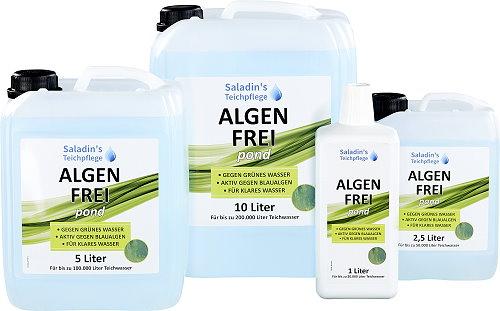 was tun gegen algen algen frei pond