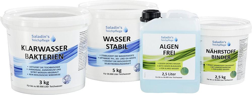 Saison Start Sets gegen Algen