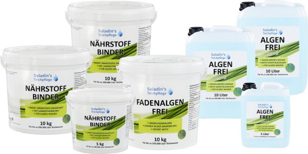 Anti Fadenalgen Set 250000 Liter